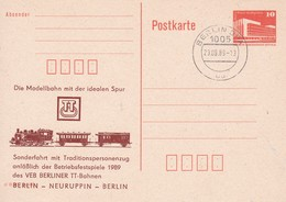 DDR Sonderfahrt Berlin - Neuruppin - Berlin 23-09-1989 - Trains