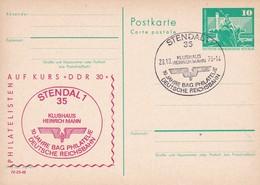 DDR 2 Cards 100 Jahre BAG Deutsche Reichsbahn FDC 28-10-1978 Und MNH - Trains