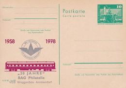 DDR 20 Jahre BAG VEB Waggonbau Ammendorf 1978 - Trains