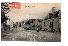 CPA 50 - Saint Martin D'aubigny , Auberge - France