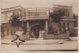 """MANDELIEU Carte Photo De L'Hôtel-Relai """"L'EPERON D'OR"""" - (2 Scans). - Autres Communes"""