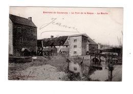 CPA 50 - Environs De Coutances - Le Pont De La Roque - Le Moulin - Coutances