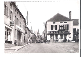 D 21  PRECY SOUS THIL  Place De L'Ancienne Mairie....  Pub Forvil - Autres Communes