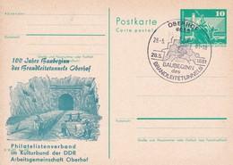 DDR 100 Jahre Baugebinn Des Brandleitetunnels Oberhof - Trains