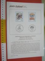 D.01 BOLLETTINO ILLUSTRATO ANNOUNCEMENT POST ITALIA - 1994 CARPIGNANO SESIA NOVARA ROMA PANE PASTA - Alimentazione