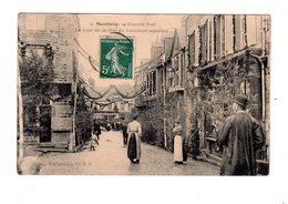 CPA 50 - Montbray - Grande Rue Le Jour De La Fête Du Concours Agricole - Autres Communes