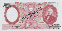 Argentina / Argentinien: Banco Central De La República Argentina 10.000 Pesos ND(1961-69) SPECIMEN, - Argentine