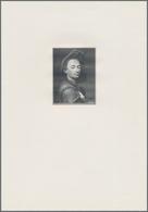 Bohemia & Moravia / Böhmen & Mähren: Intaglio Printed Vignette With Portrait Of Peter Brandl For The - Tchécoslovaquie