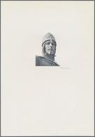 Bohemia & Moravia / Böhmen & Mähren: Intaglio Printed Vignette With Portrait Of Duke Wenzel For The - Tchécoslovaquie