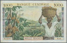 Cameroon / Kamerun: Banque Centrale - République Fédérale Du Cameroun 1000 Francs ND(1962), P.12b, V - Cameroun