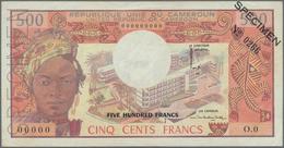 Cameroon / Kamerun: Banque Des États De L'Afrique Centrale - République Unie Du Cameroun 500 Francs - Cameroun