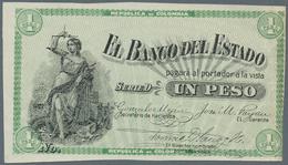 """Colombia / Kolumbien: El Banco Del Estado 1 Peso 1900 W/o Serial Number And Series """"D"""", P.S504d Proo - Colombie"""