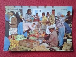 POSTAL CARTE POSTALE POST CARD ISRAEL BE'ER SHEBA BEER BEERSEBA MARKET MERCADO PUESTO DE FRUTAS FRUITS VEGETABLES....VER - Israel