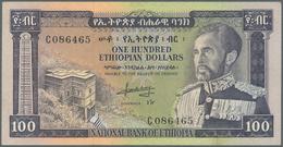 Ethiopia / Äthiopien: 100 Dollars ND P. 29, Light Vertical Folds In Paper, Strong Paper With Crispne - Ethiopie