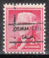 USA Precancel Vorausentwertung Preo, Locals California, Joshua Tree 807 - Vereinigte Staaten