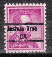 USA Precancel Vorausentwertung Preo, Locals California, Joshua Tree 843 - Vereinigte Staaten