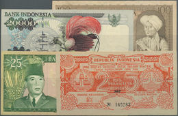 Indonesia / Indonesien: Set Of 12 Banknotes Containing The Following Pick Numbers: 46, 66, 67, 81, 8 - Indonésie