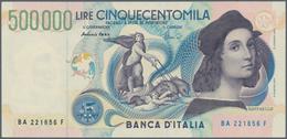 Italy / Italien: 500.000 Lire 1967 P. 118, S/N BA221856F, Crisp Original, Bright Original Colors, On - [ 1] …-1946 : Royaume