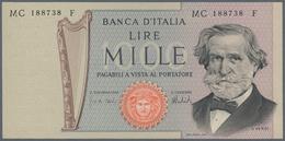 Italy / Italien: Set Of 27 Notes Containing 13x 1000 Lire P. 101, 1x 1000 Lire P. 109, 4x 2000 Lire - [ 1] …-1946 : Royaume