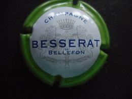 "CAPSULE De Champagne ""BESSERAT Bellefon"" - Vert Et Blanc - Besserat De Bellefon"