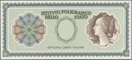 "Italy / Italien: Sample Print Of ""Marca Da Bollo"" Issues From 15 Centesimi To 15 Lire, All Overprint - [ 1] …-1946 : Royaume"
