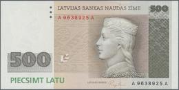 Latvia / Lettland: 500 Latu 1992, P.48, Highest Denomination And High Value Note In Perfect UNC Cond - Latvia