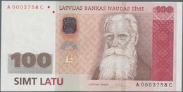 Latvia / Lettland: 100 Latu 2007, P.57a In Perfect UNC Condition - Latvia