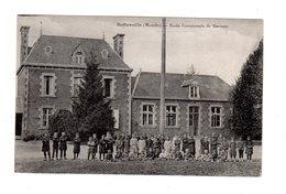 CPA 50 - Reffuveille ( Manche ) - Ecole Communale De Garçons - France