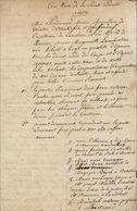 Testament De Winter-Libert, De Liège - Manuscripts