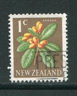 NOUVELLE-ZELANDE- Y&T N°444- Oblitéré (fleurs) - Plants