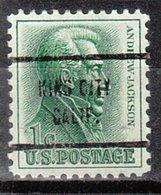 USA Precancel Vorausentwertung Preo, Locals California, King City 713 - Vereinigte Staaten
