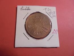 SUEDE 1 ÖRE 1737 (A.3) - Suède