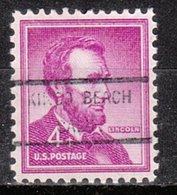 USA Precancel Vorausentwertung Preo, Locals California, Kings Beach 825 - Vereinigte Staaten