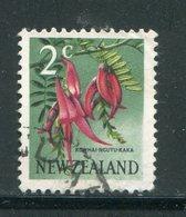 NOUVELLE-ZELANDE- Y&T N°445- Oblitéré (fleurs) - Plants
