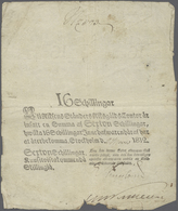 Sweden / Schweden: 16 Skilling 1812 P. A115 In Used Condition With Folds And Border Wear But No Larg - Suède