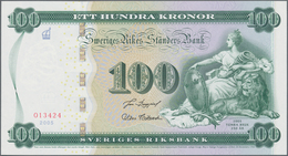 Sweden / Schweden: Original Folder With 100 Kronor 2005, P.68 In Perfect UNC Condition. - Suède