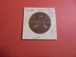 SUEDE 1 ÖRE 1750 (A.3) - Suède