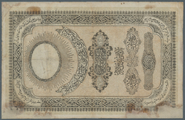 Turkey / Türkei: 10 Kurush ND(1855-57), P.15, Highly Rare Banknote, Repaired And Restored Along The - Turquie