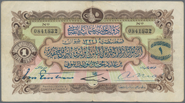 Turkey / Türkei: 1 Livre ND P. 68 In Used Condition With Stronger Horizontal Folds, Light Handling I - Turquie