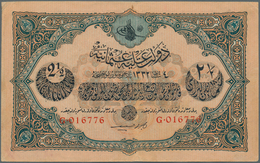 Turkey / Türkei: 2 1/2 Livres ND P. 100, Used With Folds And Creases But Still Very Crisp Paper And - Turquie
