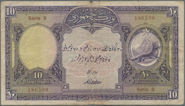 Turkey / Türkei: 10 Livres ND P. 121, Use With Folds And Creases, Stronger Center Fold With Border S - Turquie