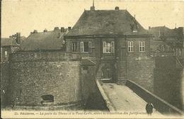 08 Ardennes MEZIERES La Porte Du THEUX Et Le Pont Levis Avant La Démolition Des Fortification - France
