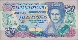 Falkland Islands / Falkland Inseln: 50 Dollars 1990 P. 16a In Condition: UNC. - Falkland