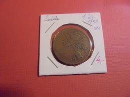 SUEDE 1 ÖRE 1758 (A.3) - Suède