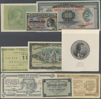 Greece / Griechenland: Large Lot Of About 780 Notes Containing The Following Pick Numbers In Differe - Greece
