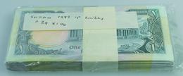 Sudan: Bundle With 100 Pcs. Sudan 1 Pound 1987, P.39 In UNC - Soudan