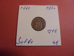 SUEDE 1 ÖRE 1874 (A.3) - Suède