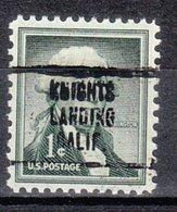 USA Precancel Vorausentwertung Preo, Locals California, Knights Landing 707 - Vereinigte Staaten