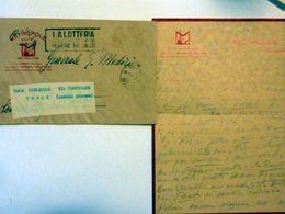 "Busta Viaggiata Con Lettera Manoscritta ""HOTEL METROPOLE BRUXELLES - GEN. G. MEDICI"" - 1900-44 Vittorio Emanuele III"