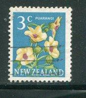 NOUVELLE-ZELANDE- Y&T N°447- Oblitéré (fleurs) - Plants